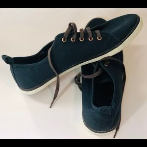 H&M Blue Canvas Shoes